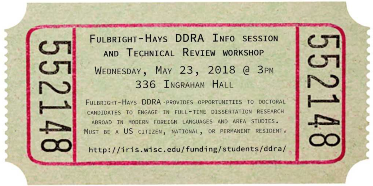Fulbright-Hays DDRA